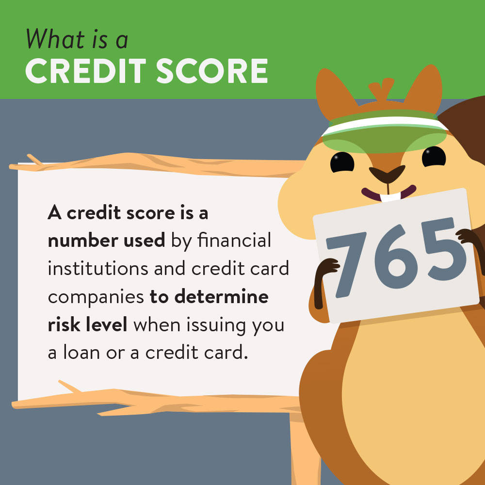Definition of a credit score