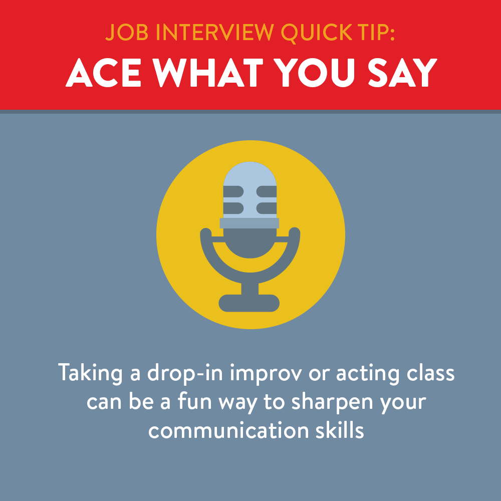Ace what you say by recording yourself and sharpen your communication skills.
