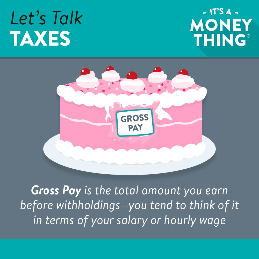 Let's talk taxes | what is gross pay?