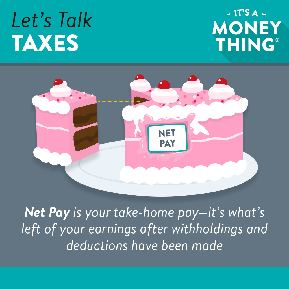 Let's talk taxes | what is net pay?