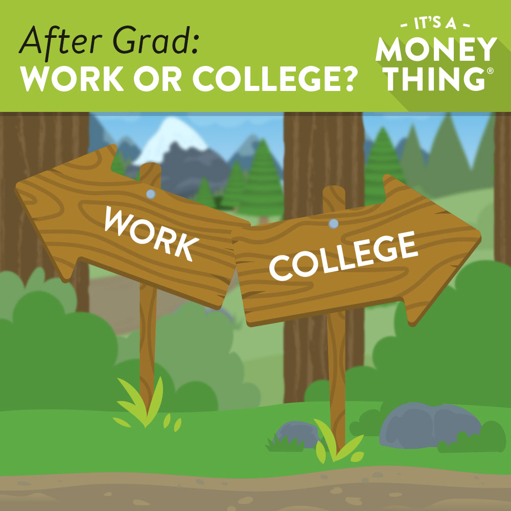 Arrows of Work direction or College direction