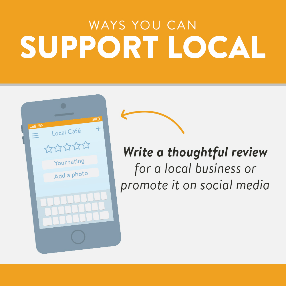 Grow money locally | write a thoughtful review