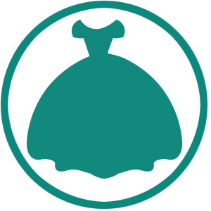 princess dress icon
